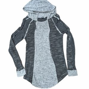 🌎 EARTHBOUND Women's Lightweight Grey Hoodie